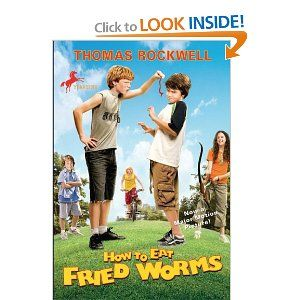 This was a fun book that my 4th grade teacher read to my class how to eat fried worms thomas rockwell 9780440421856 ccuart Images