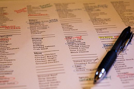 The Best Way to Grocery Shop! ... Master Grocery List
