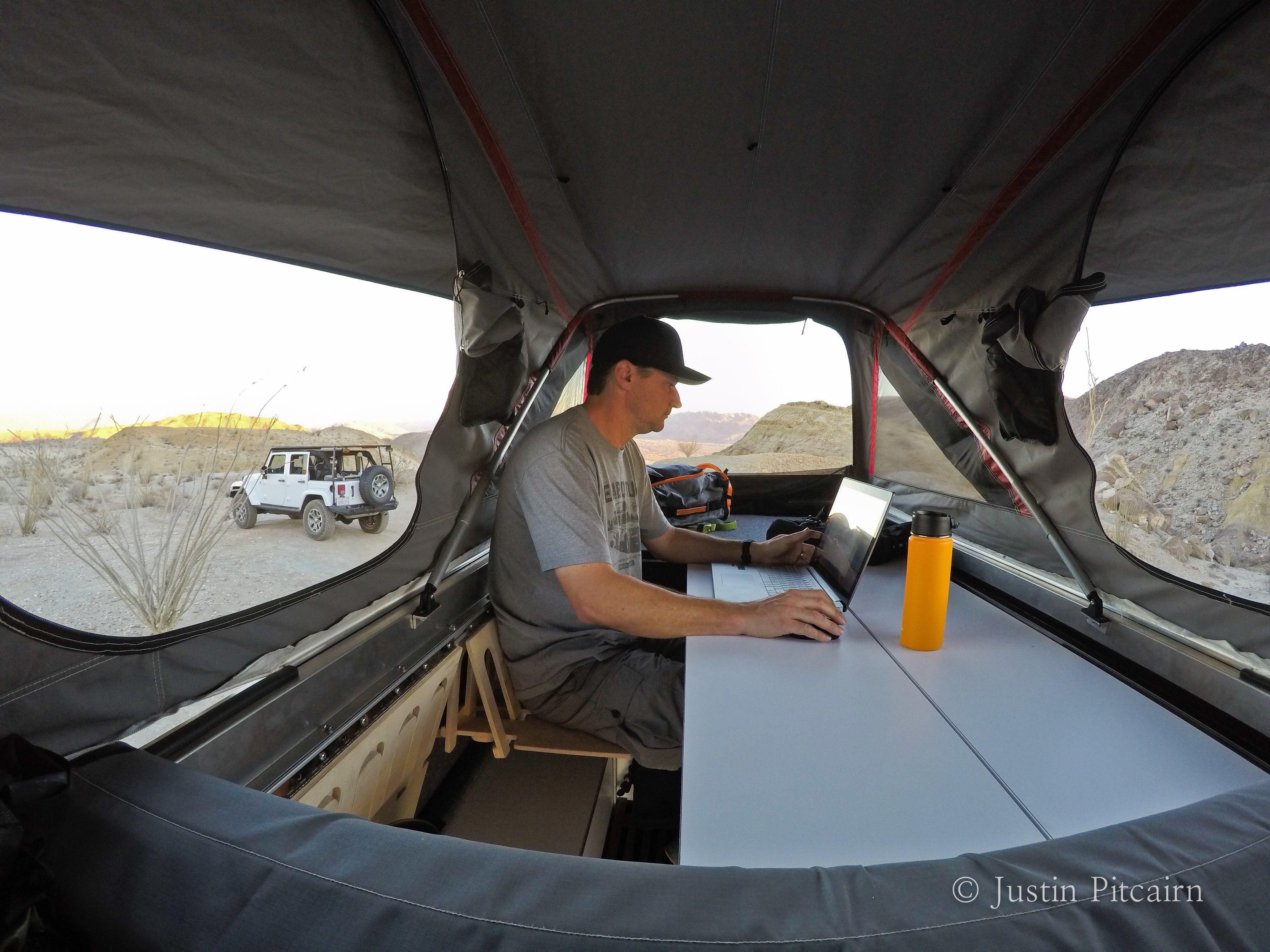 AT Habitat Folding Bench Seats Habitats, Roof top tent
