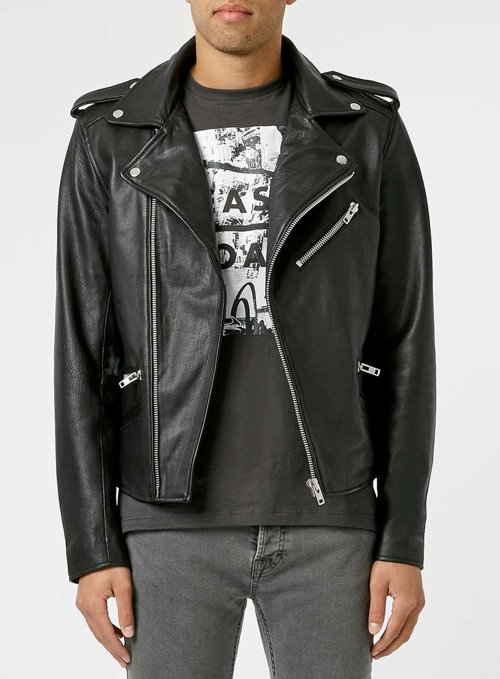 Leather jacket europe - Leather