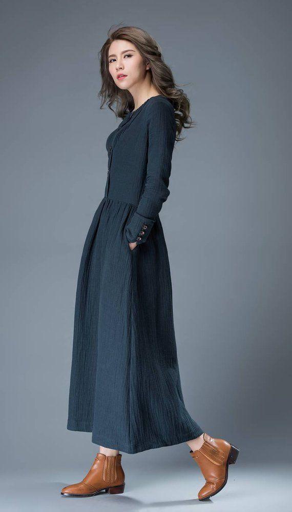 b0c385b4892 Linen dress
