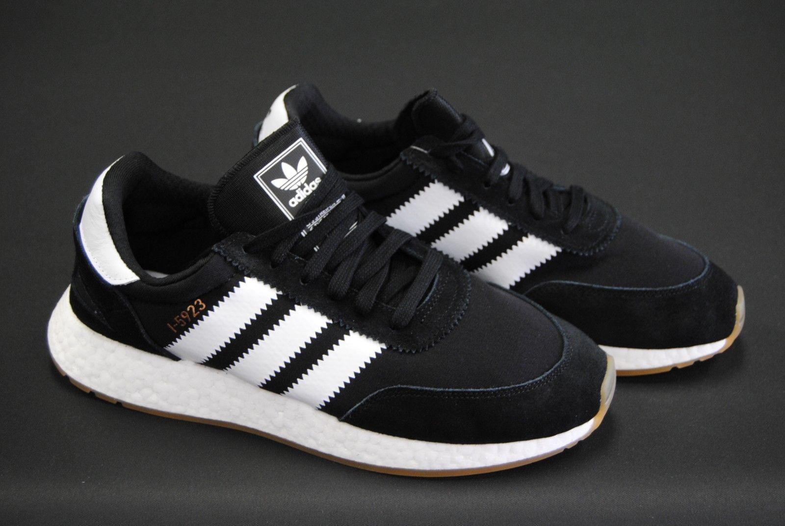 by9727] new mens adidas originali - 5923 iniki nucleo bianco nero gomma