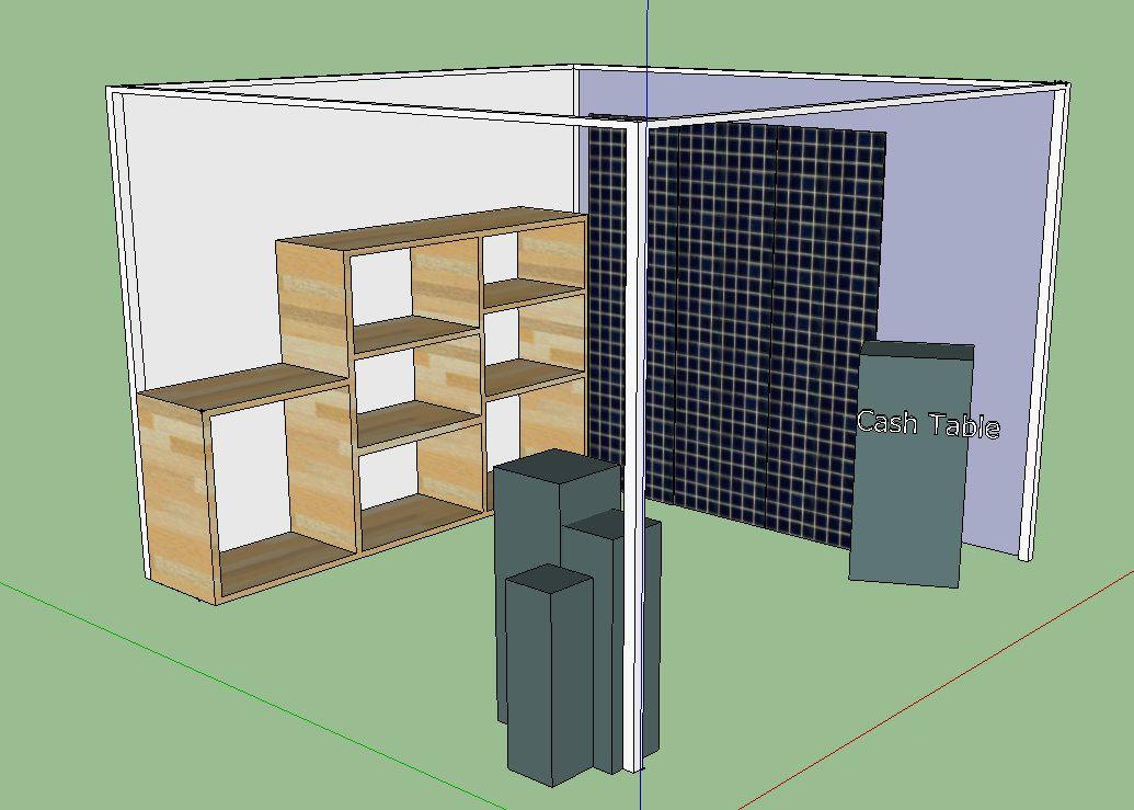 Corner Booth Design