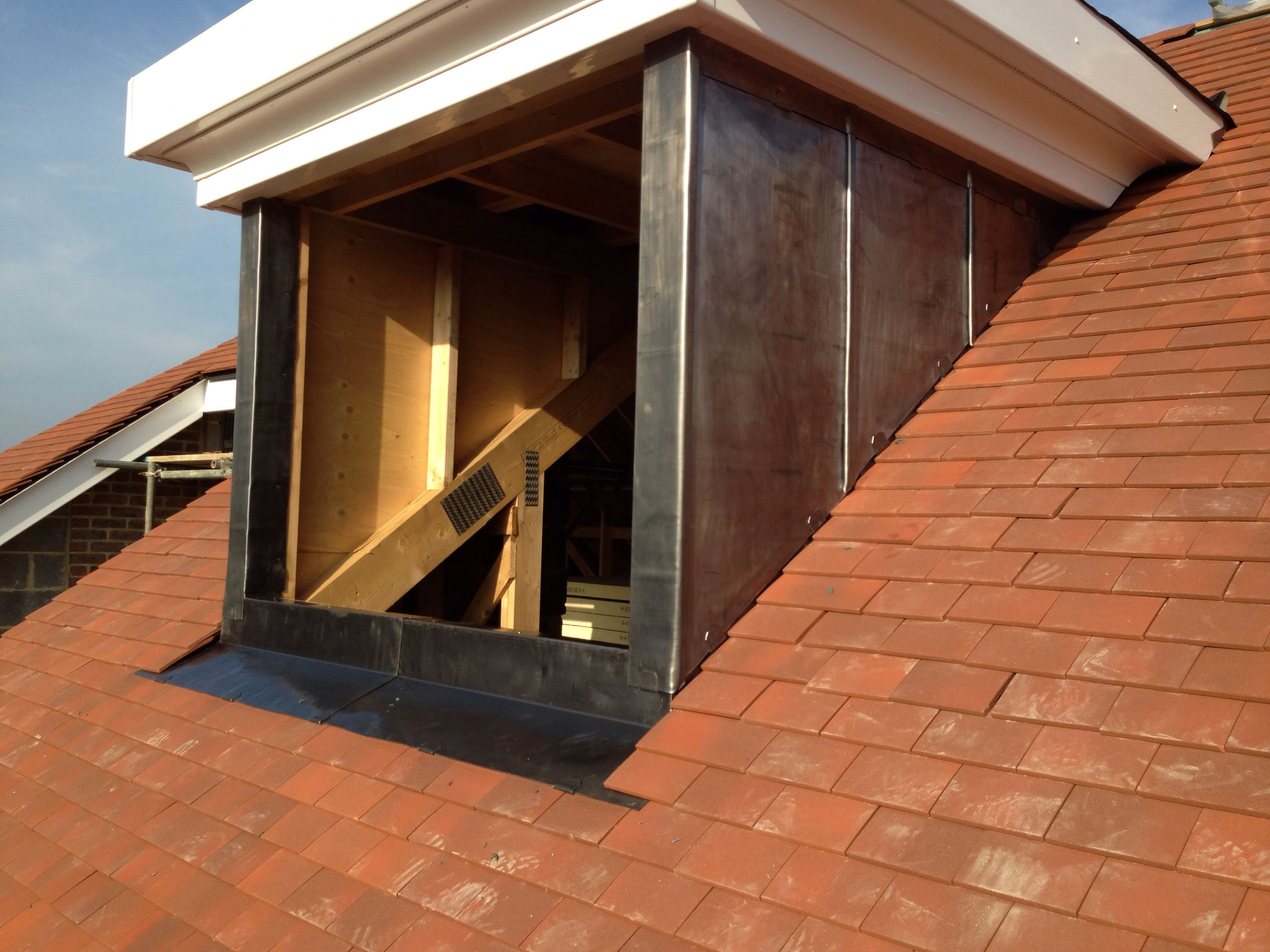 Here Is A One Of 5 Lead Dormers I Cladded In North London
