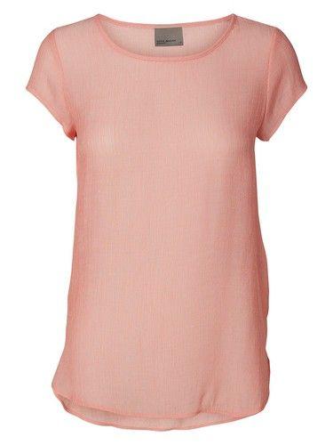 Auslasszwischenraum T-Shirt VMLua graumeliert Vero Moda Spielraum Nicekicks Preiswert StVTx