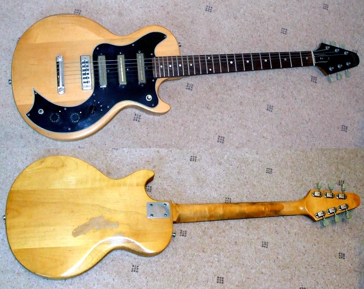 hight resolution of gibson s1 1976 made in usa