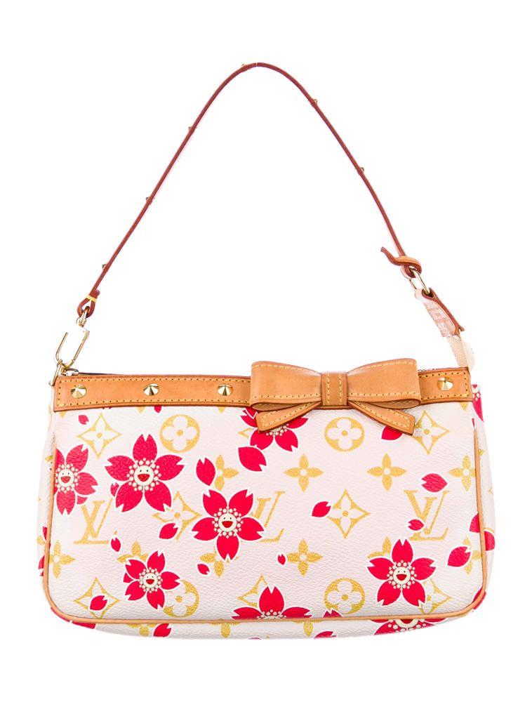 Louis Vuitton Cherry Blossom Pochette | Wearable Art [Handbags ...