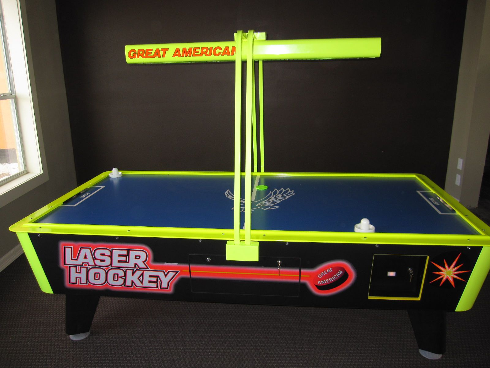 Air Hockey for a gameroom Pinball, Game room, Games