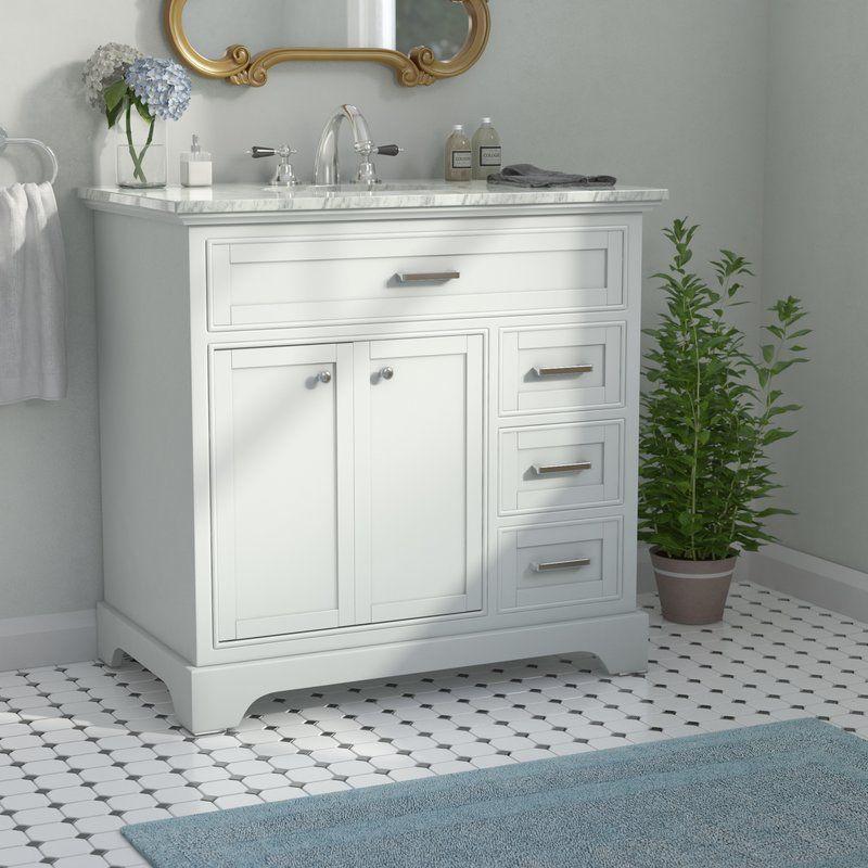 Darry 36 Single Bathroom Vanity Set Single Bathroom Vanity Vanity Single Vanity