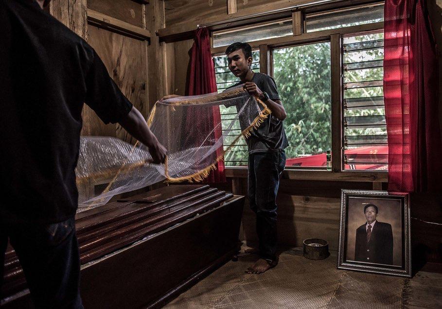 """NPR on Instagram """"The Toraja people of Indonesia keep the"""