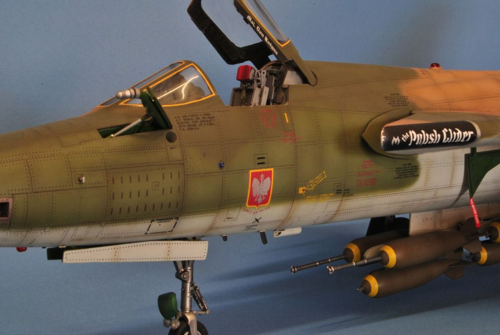 Trumpeter 1 32 F 105d Thunderchief By Nickparker Model Aircraft Military Aircraft Scale Models