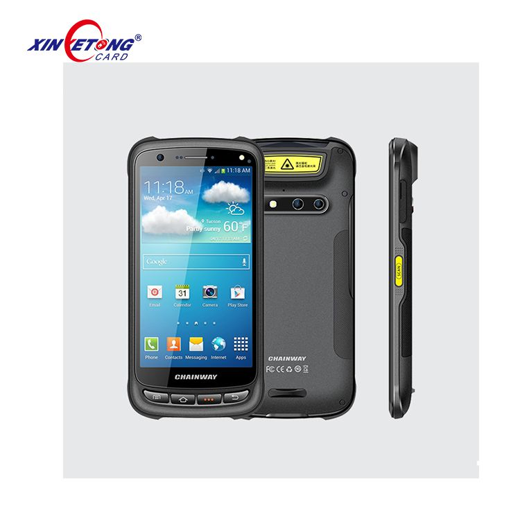 Android Systerm Touch Screen Handheld NFC Phone Reader 5 2