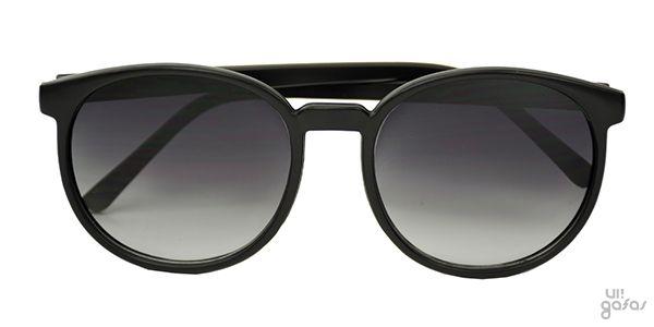 aad44c8f1 Óculos De Sol Retrô Clássico Redondo Em Acetato || Ui! Gafas / Kathy - UI303