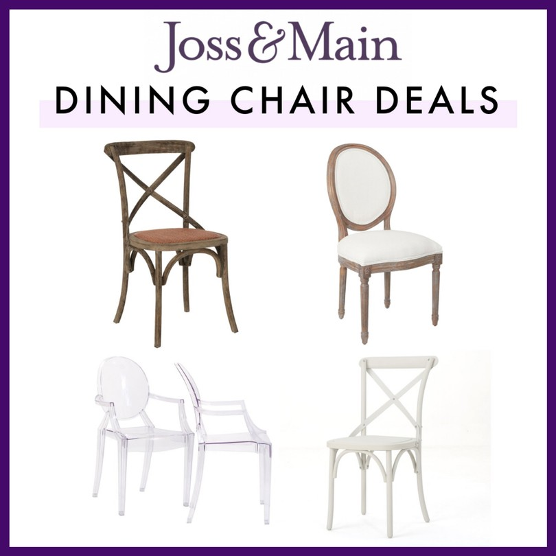 Joss & Main Dining Chair Deals this Black Friday! Shop via