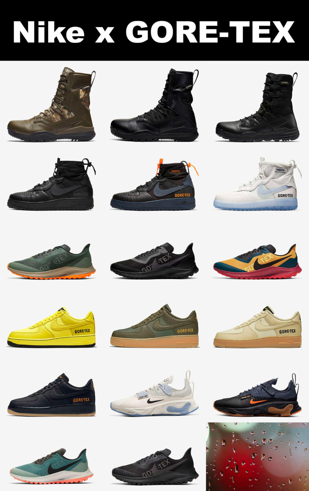 Nike Gore-Tex Sneakers \u0026 Boots for