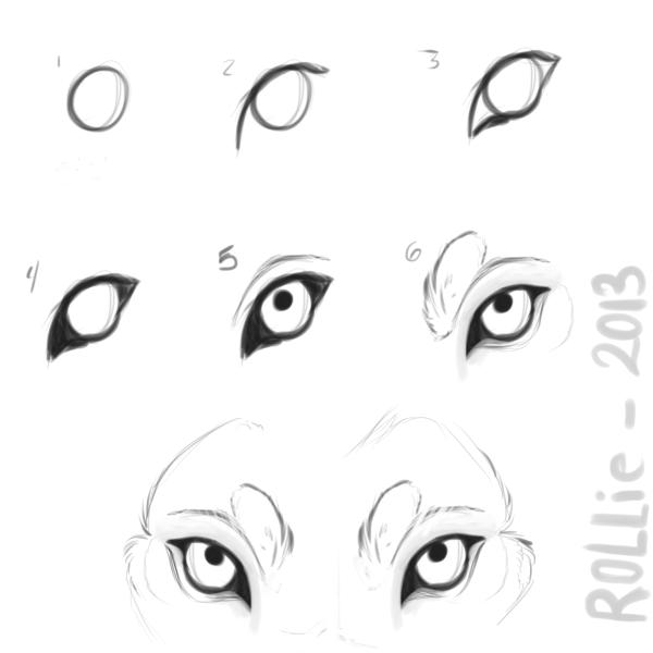 Wolf Eye Tutorial By Rollie Fola D69cwob Png 600 600 Pixels Wolf Eyes Wolf Eye Drawing Wolf Sketch
