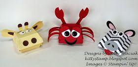 Kitty Stamp: More Hamburger Box Critters