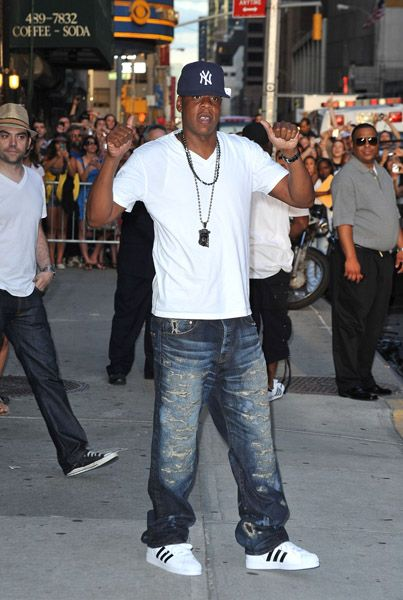 4e012d669e9 Jay-Z was one of the David Letterman's guests on The Late Show this past