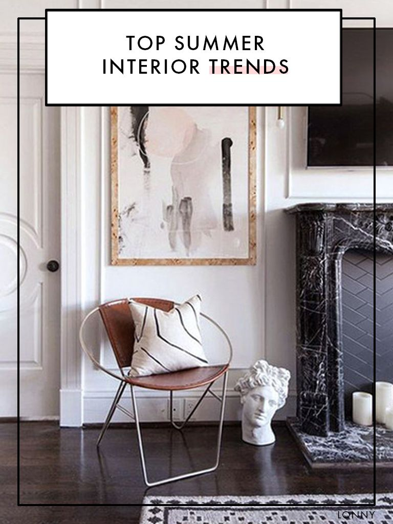 The Top Summer Interior Trends According To Pinterest With