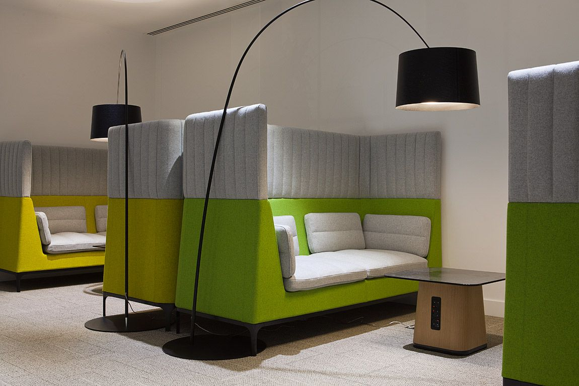 Haven High Back 2 Seater Sofa By Mark Gabbertas For Allermuir Workplace Design At Imperial