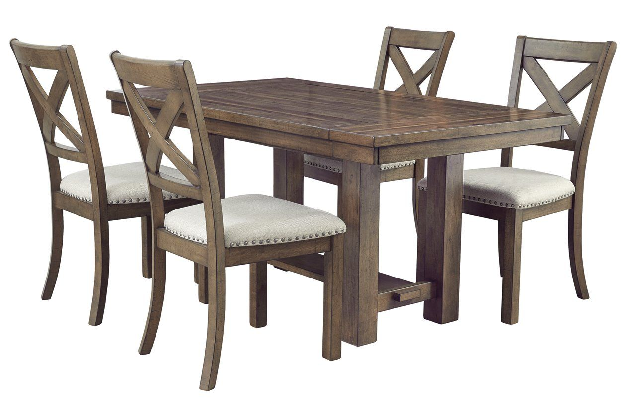Moriville 5 Piece Dining Room In 2020 With Images Ashley