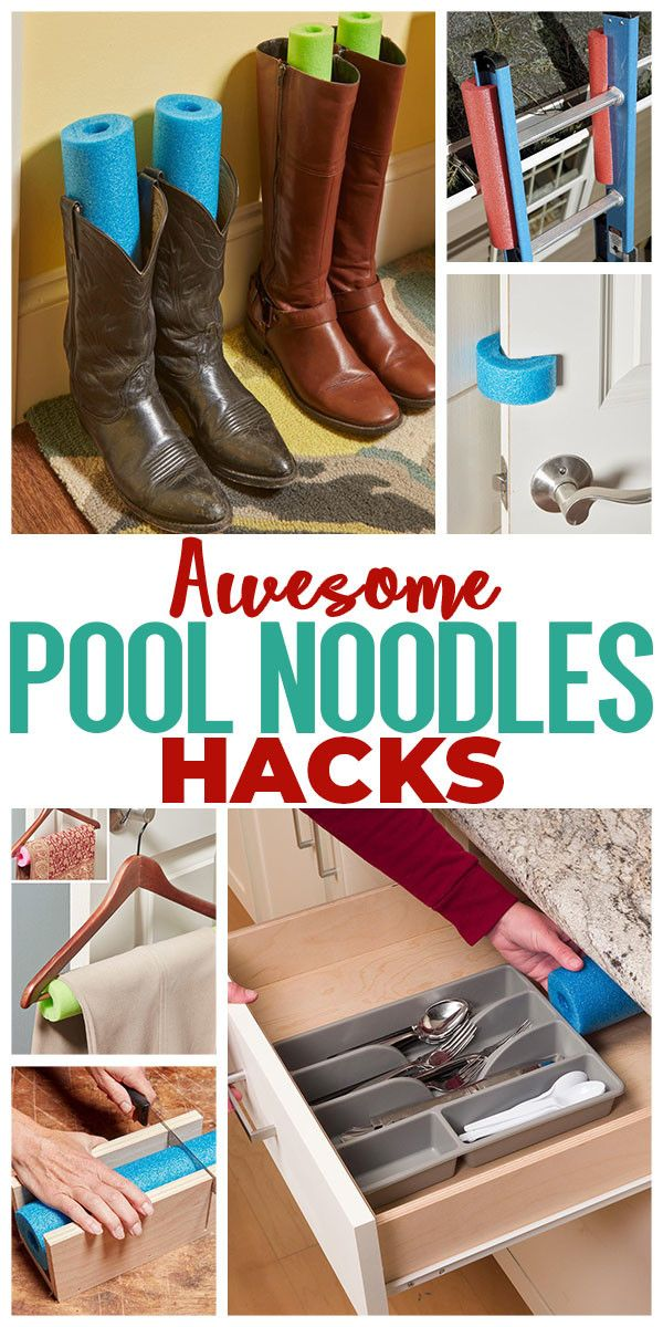 Amazing Pool Noodles Hacks Pool Noodles Homeowner Hacks Pool