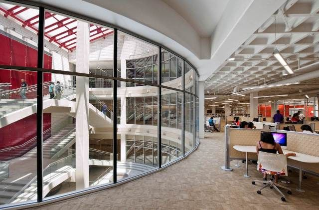 Library Interior Design Award Project Title Atlanta University Center Woodruff Library