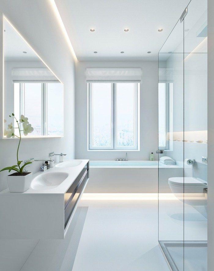 ▷ 1001 Ideen Und Inspirationen Für Moderne Badezimmer | Badezimmer Ideen U2013  Fliesen, Leuchten, Dekoration | Pinterest | Eingebaute Badewanne, ...