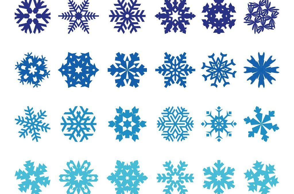 Pack Of Snowflake Vector Free Download Vector free