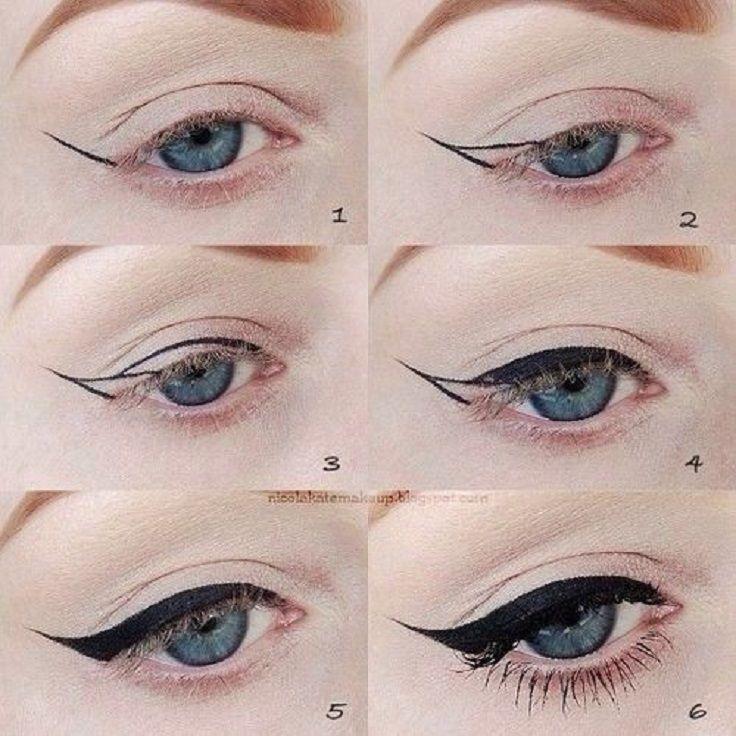 Bien connu L'eyeliner pour les nulles (7 tutos + astuces | Eye liner, Pour  MO26