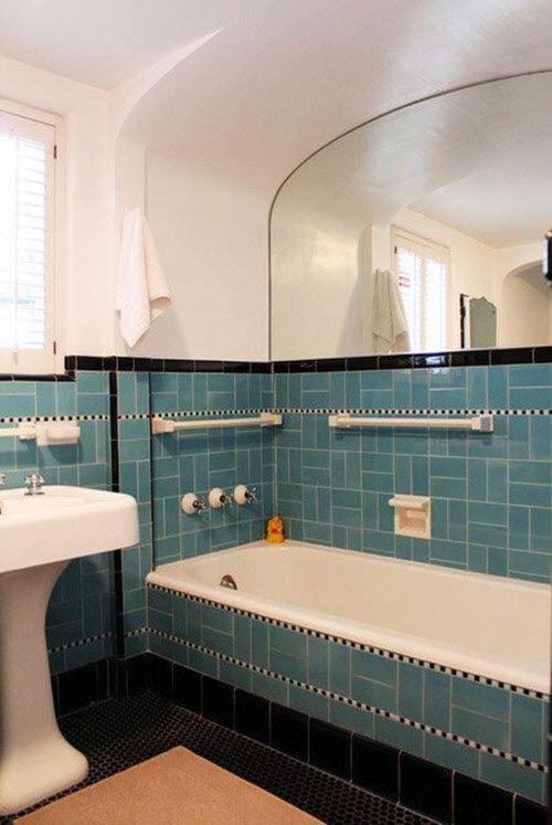 Awesome Blue Bathroom Tiles Ideas