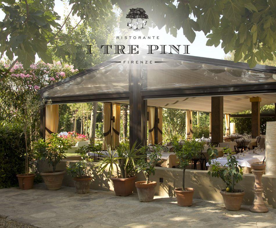 Garden at Ristorante I Tre Pini Firenze