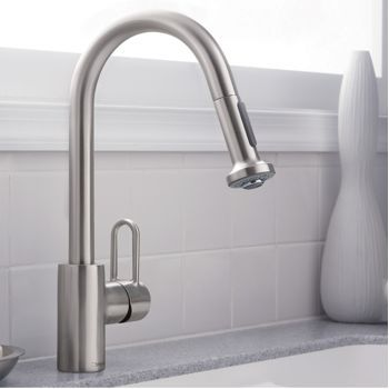 Costco Hansgrohe Metro Higharc Kitchen Faucet With 2 Function Pull Out Sprayhead