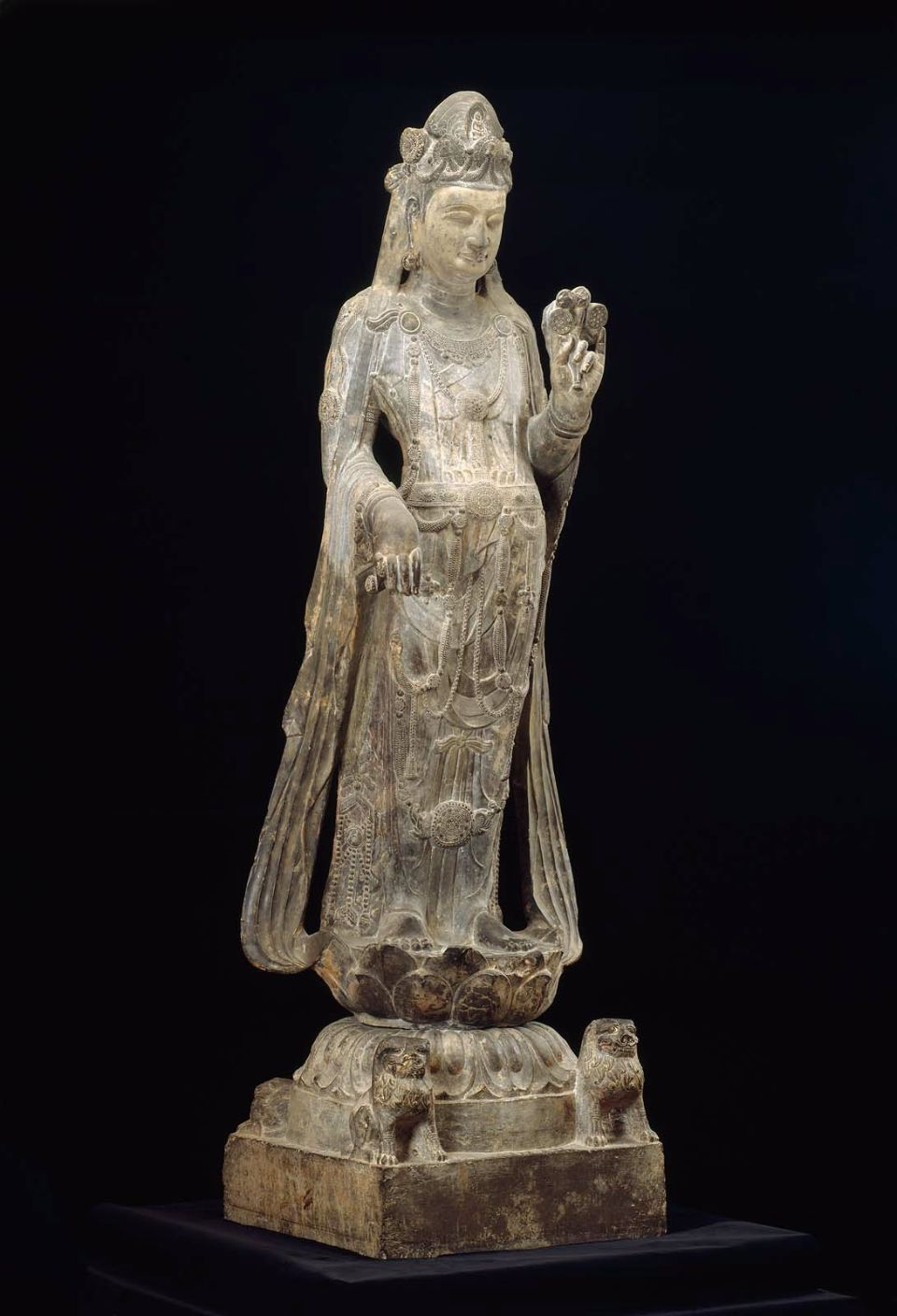 Guanyin bodhisattva of compassion chinese northern zhou or early guanyin bodhisattva of compassion chinese northern zhou or early sui dynasty about biocorpaavc Choice Image