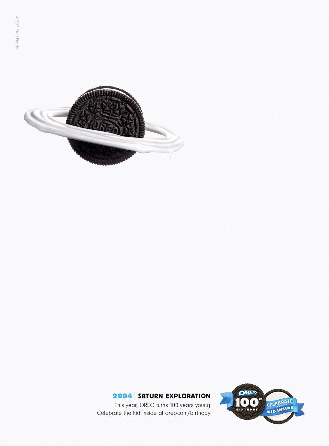 Oreo Ads 100th Birthday - Saturn Exploration