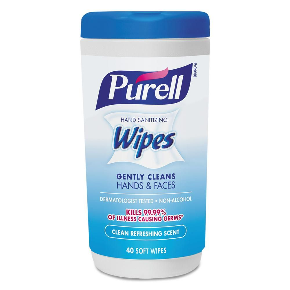 Purell 5 7 10 In X 7 1 2 In Clean Refreshing Scent Hand