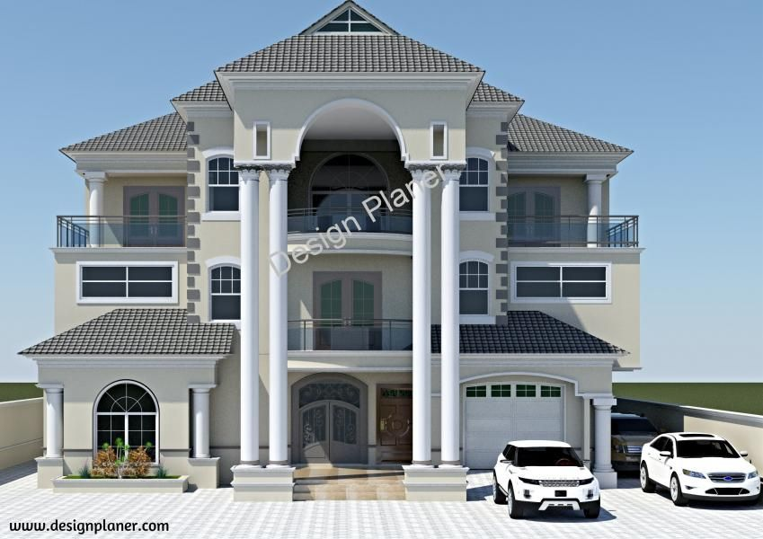 Designed Home Plans A Turn Key Construction Services House Plans Mansion Unique House Design Modern House Facades