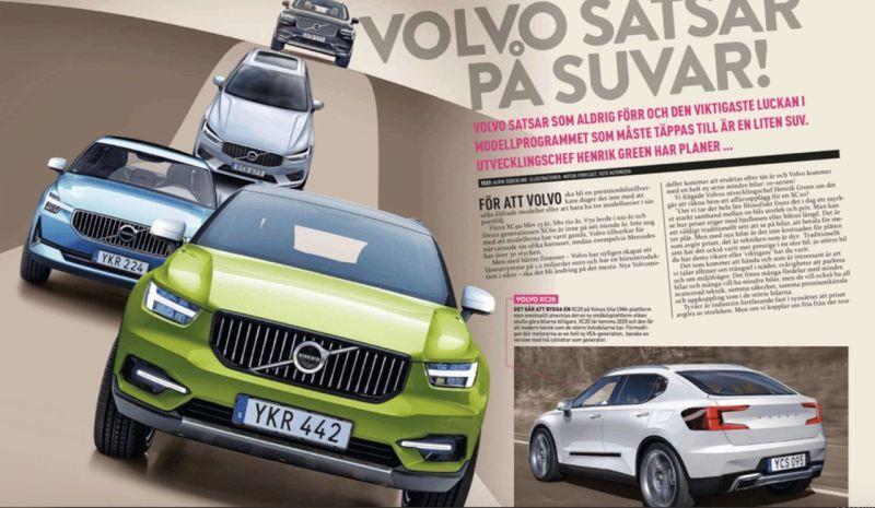 Kompakt Suv Neuer Volvo Xc20 Kommt 2020 Nordicwheels Volvo Kompakt Suv Kleine Suv