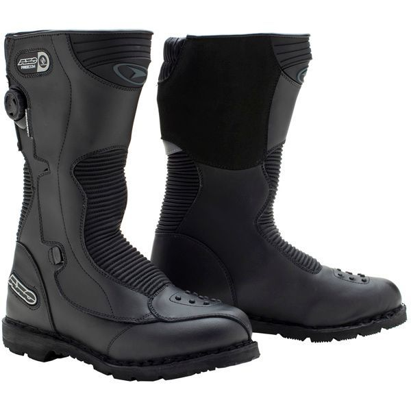 AXO Freedom Adventure WP Boots - Motorcycle Superstore - Closeout ...