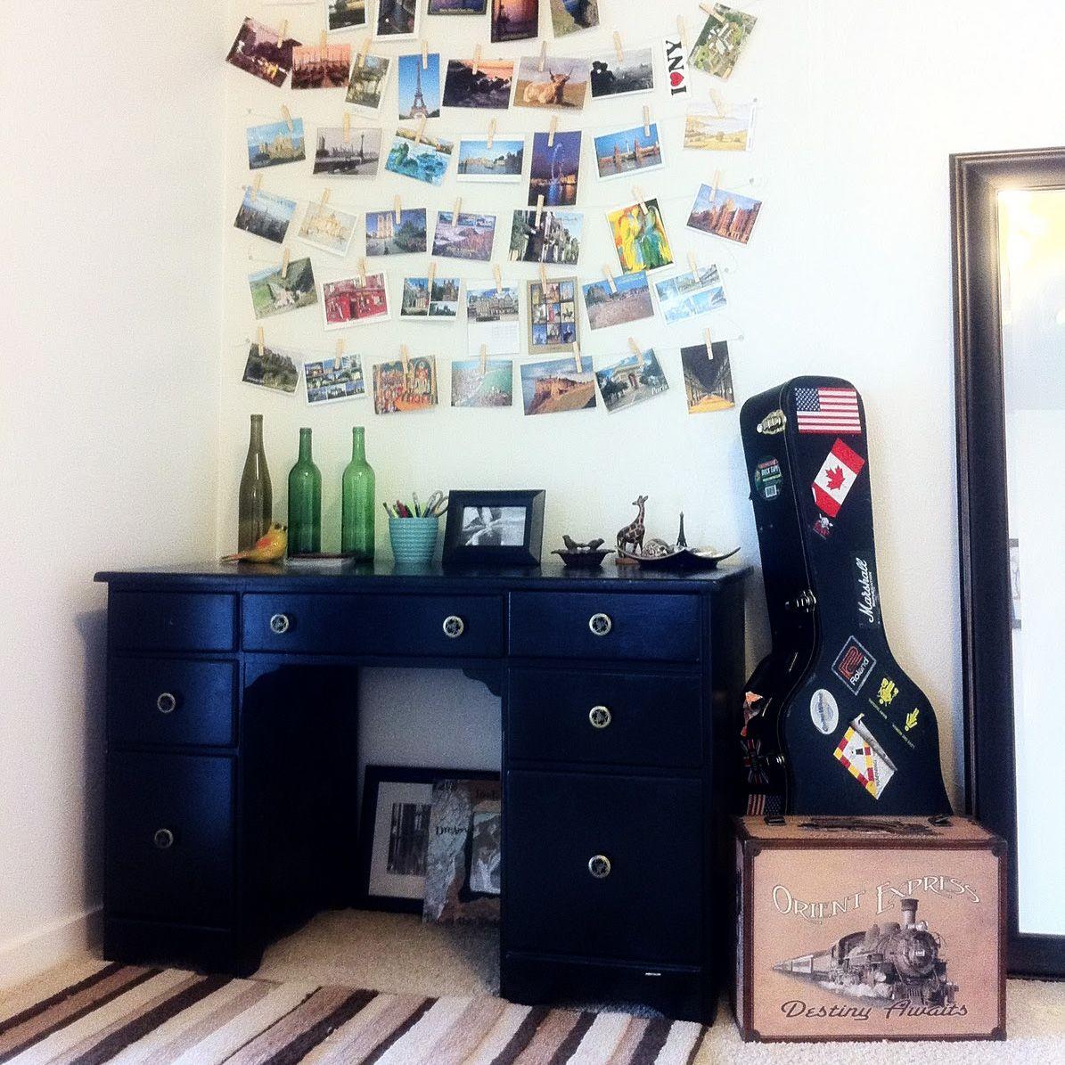 Easy Decorating with Postcards | InteriorDesignLV