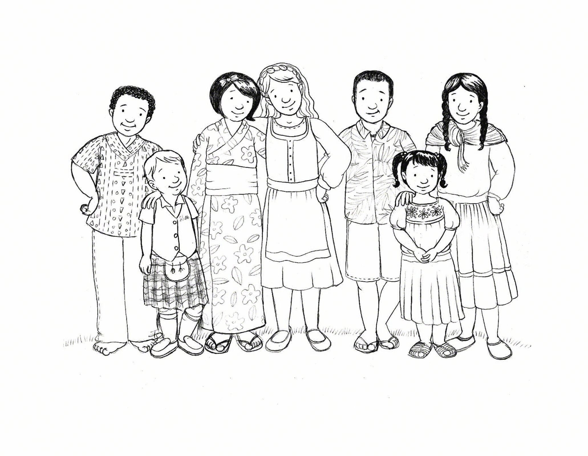 Primary Coloring Page lds mormons children kids