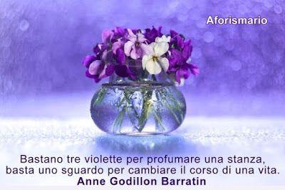 Viole e violette aforismi frasi e proverbi fiori di primavera