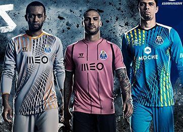separation shoes 617b6 507e3 ... FC Porto Unveil Pink 2014 15 Warrior Third Kit ...