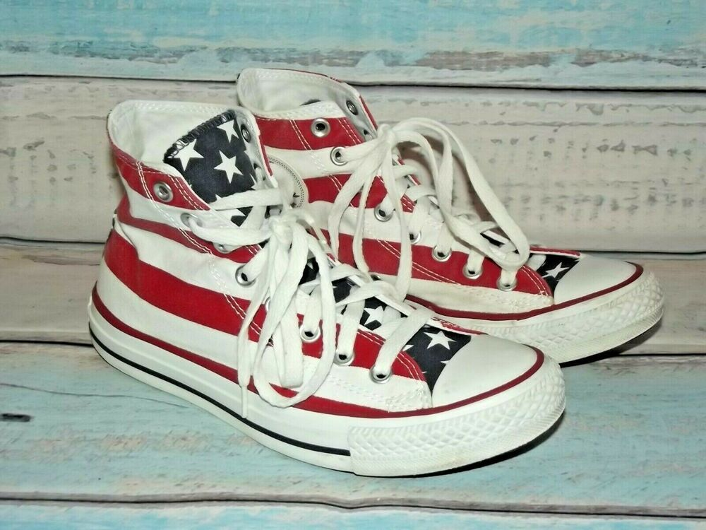 CONVERSE Chuck Taylor All Star High USA Flag StarsStripes
