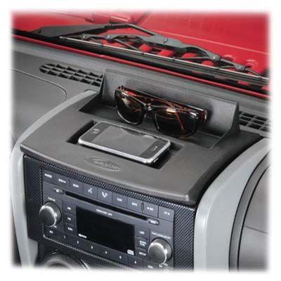 Jeep Interior Daystar Ds Kj71020 Daystar Upper Dash Panel In Black For 07 10 Jeep