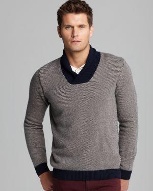 Cool colorblock Lacoste sweater