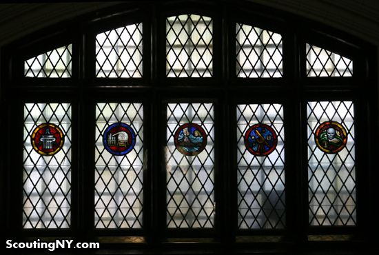 Hidden Treasures In A Brooklyn Public School Including The Coolest Stained Glass Window Ever With Images Hall High School Stained Glass Public School
