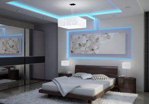 Chambre A Coucher En Placoplatre Plafond Placoplatre Decoration ...