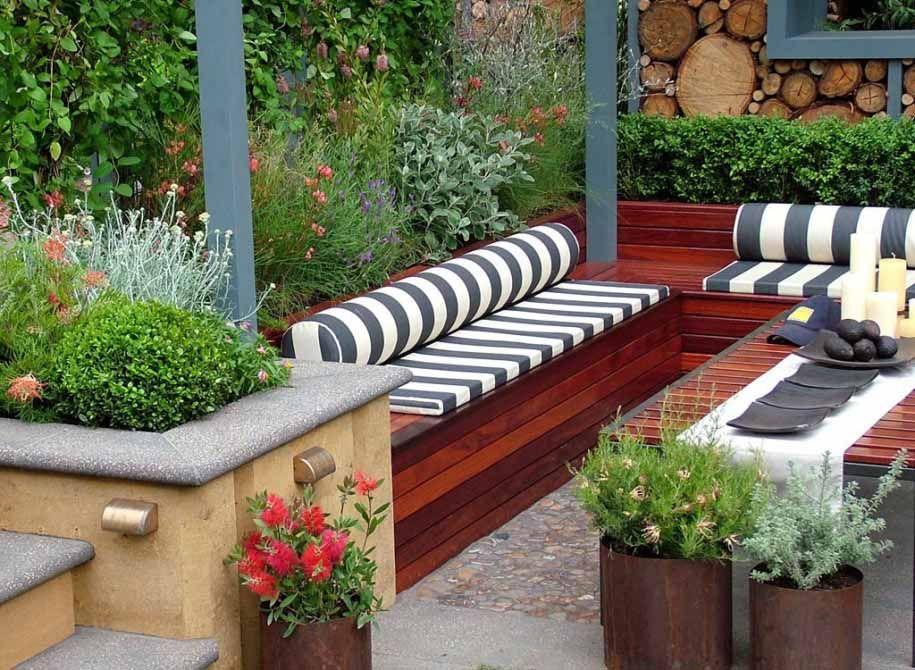 65 desain taman depan rumah mungil minimalis desainrumahnya com