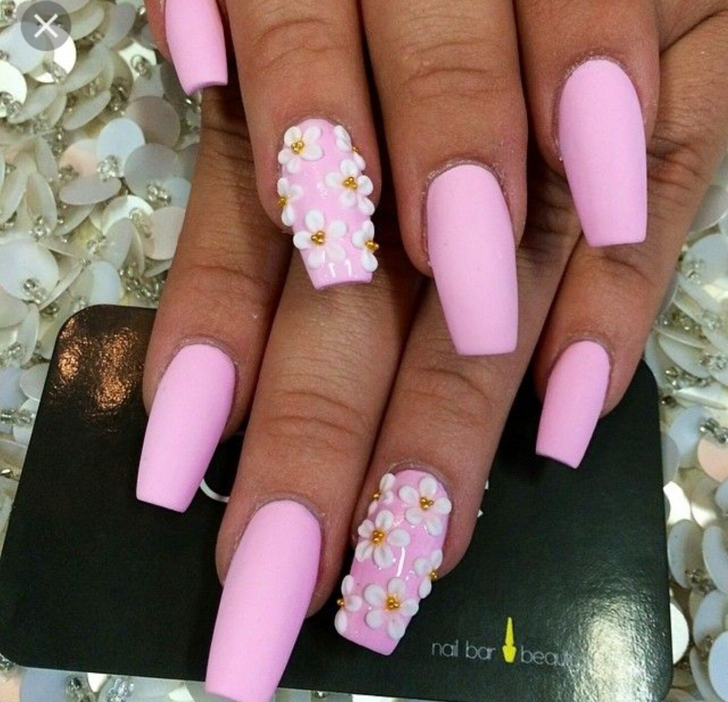 Coffin shaped nails coffin nails designs short coffin